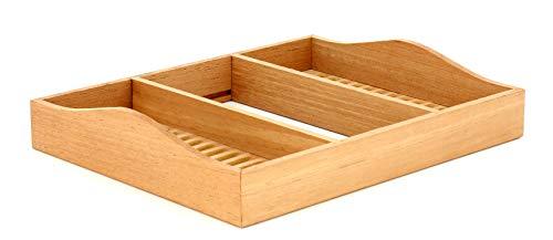 ADORINI Humidorzubehör Einlegeboden Gr. M medium Tray Deluxe Serie für viele Humidore, Holz