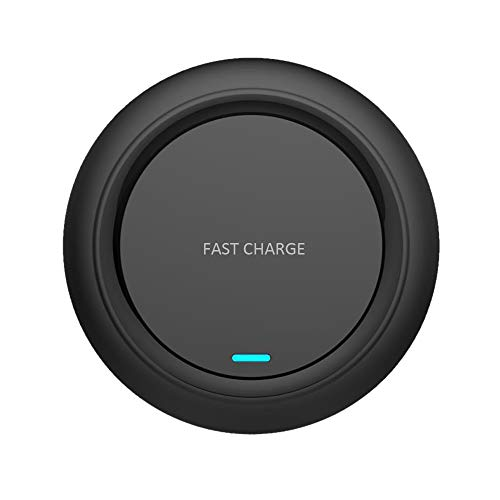 Best Prices! QIUUE Fast Wireless Charger, Rapid Charging Stand for iPhoneXS/XS MAX High Power Wirele...