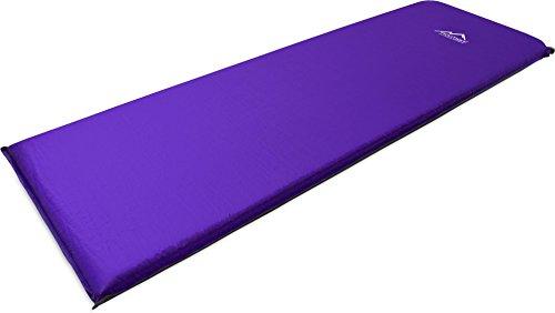 normani Selbstaufblasende Luftmatratze Verschiedene Größen Farbe Violett Größe 200 x 70 x 15 cm