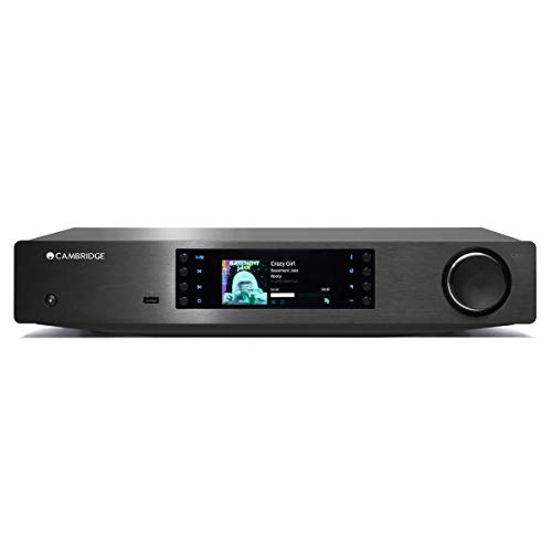 Cambridge Audio CXN (V2) – Netzwerk-Audio-Player mit Chromecast-Integration, AirPlay 2, Spotify Connect, Tidal, mit Roon kompatibel.