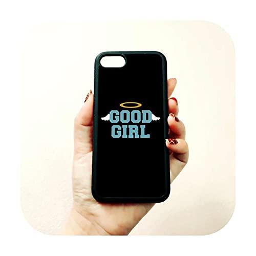 BFF Good Bad Girls Best Friends - Fundas para iPhone 11 12 Mini Pro Max 5s SE 6 6s 7 8 Plus XR XS MAX Cover -B6008-para iPhone 12 Mini
