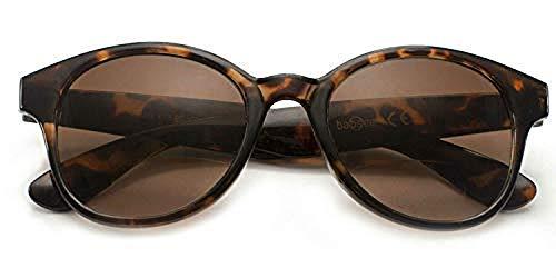 Babsee   bifokal Sonnenlesebrille Kate   Lesebrille getönt & mit Sonnenschutz   Ideale Lesebrillen Sonnenbrille mit Sehstärke Damen, Lesesonnenbrille, Brillenträger Sonnenbrille mit Lesehilfe