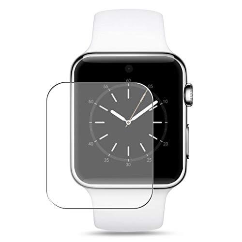 Vaxson 3 Stück Schutzfolie, kompatibel mit Smartwatch smart watch DM09, Displayschutzfolie Bildschirmschutz Blasenfreies TPU Folie [nicht Panzerglas]