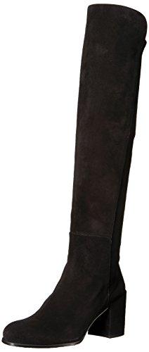 Stuart Weitzman Damen ALLJACK Overknee-Stiefel, schwarz, 42.5 EU