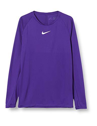 Nike Park First Layer Top Kids, Maglia Termica Maniche Lunghe Bambino, Viola, M
