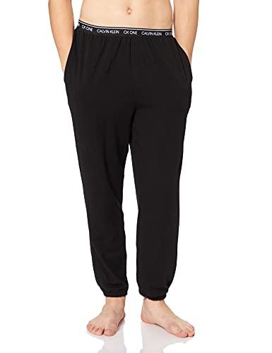 Calvin Klein Jogger Pantalones de Pijama, Negro (Black 001), L para Hombre