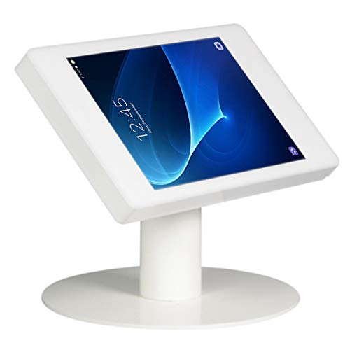 Tablet desk stand Fino for Samsung Galaxy Tab S 10.5 - white - camera visible