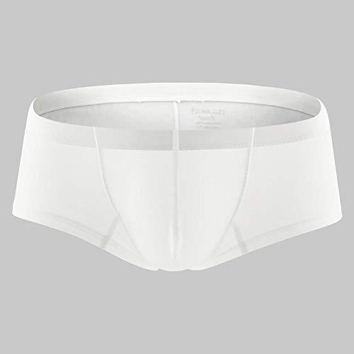 Hombre Sexy Bikini,Ropa Interior para Hombres Color sólido Bolso Tridimensional Transpirable Boxer Pants-B_M,Tanga Hombre Sexy Algodón String