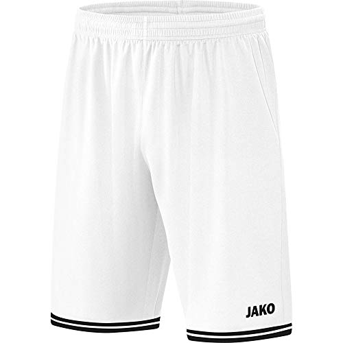 JAKO Kinder Center 2.0 Short, weiß/Schwarz, XS
