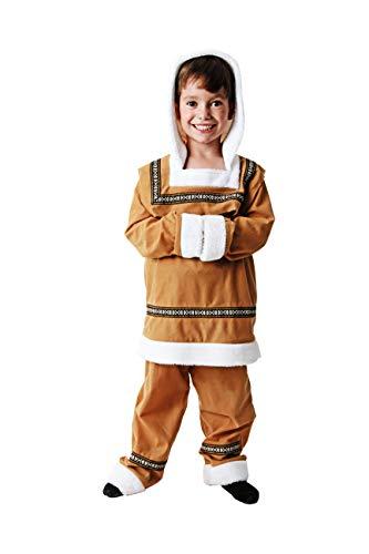 Costumizate! Disfraz de Esquimal Talla 3-4 Especial para niños Fiestas de Disfraces o Carnaval