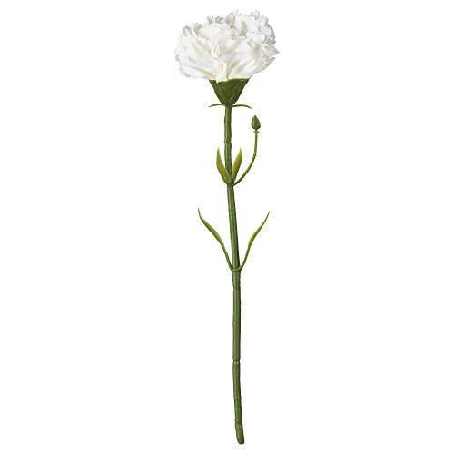 Ikea SMYCKA Kunstblume, Nelke, weiß, 30 cm, Nicht Angegeben