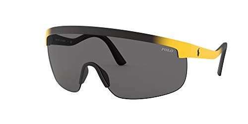 PH4156 anteojos de sol protectoras, Negro mate/gradiente T/gris oscuro., 44 mm