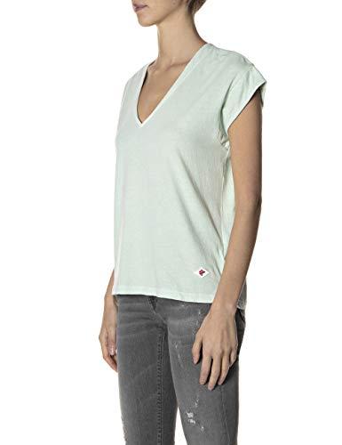 REPLAY W3338E.000.22660G Camiseta, 952 Menta Pale, M para Mujer