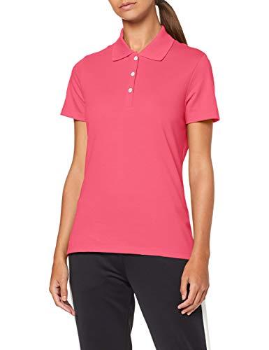 Trigema Damen 521603 Poloshirt, Violett (Hibisk, XL