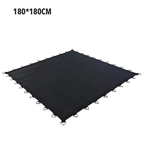 Niumen Square Trampoline Cover Weatherproof Thick PP Mesh Trampoline Pad UV Protection Trampoline Mat Yard Toys Accessories For Kids Adults