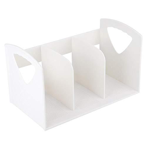 TOPINCN Document Organizer Rack Desktop Papier Opbergdoos Boek Bestandshouder Office School Gebruik