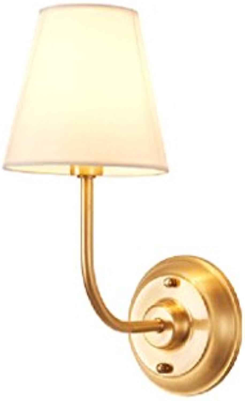 Wandleuchten Moderne minimalistische kreative Kupfer Lampen verwendet, um die Wohnzimmer Flur Gang Balkon Schlafzimmer Nachttisch Beleuchtung zu dekorieren DE