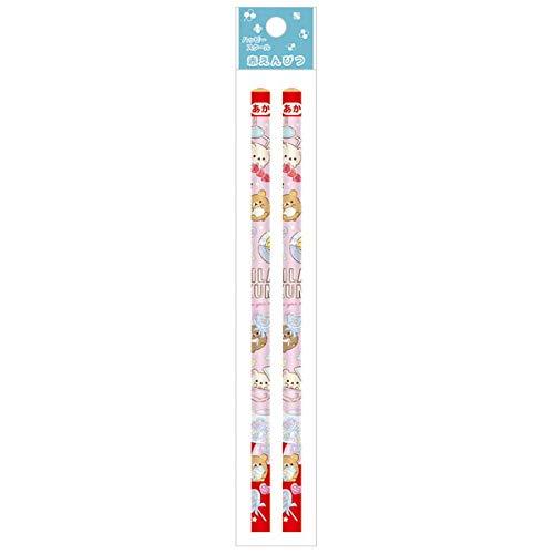 リラックマ ハッピースクール2021 赤鉛筆 2本セット ガチャ PH03901