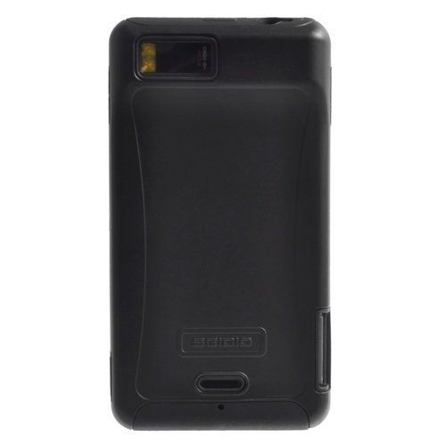 Seidio CSR6MTDX-BK DILEX Case for use with Motorola DROID X/Droid X 2 - Black