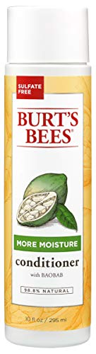 Burt's Bees Baobab Oil More Moisture Conditioner, Sulfate-Free Conditioner, 10 Oz (Package May Vary)