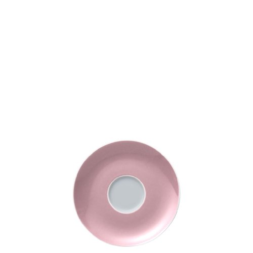 Soucoupe pour Tasse à Café 20 cl Thomas Sunny Day, Porcelaine, Rose Clair, Compatible Lave-Vaisselle, 14.5 cm, 14741