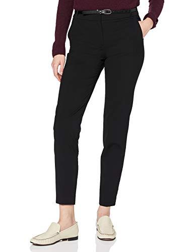 ESPRIT Collection Damen Klassische Business Hose, 001/BLACK 2, 36
