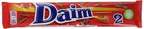 Daim Schokoriegel 12er Pack (2 x 28 g) – knackiger Mandelkaramell umhüllt von feinster Milchschokolade – einzigartig leckere schwedische Süßigkeit