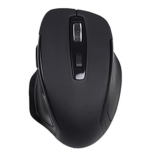 Live Tech Silk Wireless Vertical Mouse 6D with 3 DPI Modes (Silk – Black)