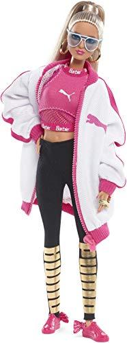 Barbie Collector, muñeca total look deportivo Puma con zapatillas rosas y negras...