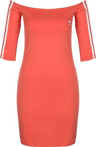 adidas Shoulder Dress Robe Femme, Trace Scarlet s18, FR : S...