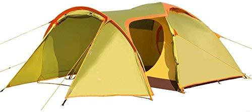 Leixin Koepeltent, waterdichte tent, 3-4 persoonstent, waterdicht, voor kamperen, wandelen, reizen, klimmen, Easy Set Up 390 x 210 x 120 m