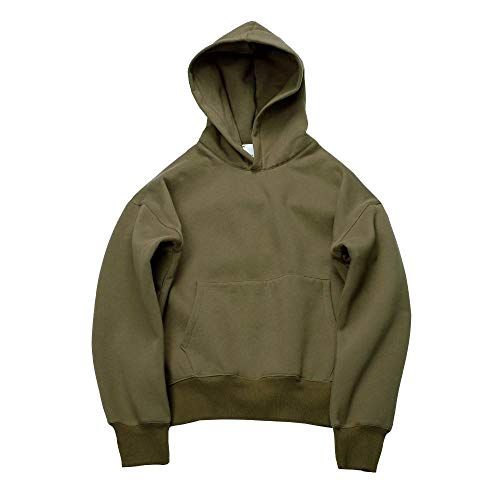 Sehr Gute Qualität schöne Hip Hop Hoodies mit Fleece WARM Winter Herren Kanye West Hoodie Sweatshirt Beute solidenPullover