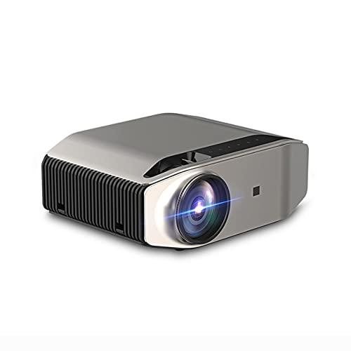 Proyector de Mini Película Portátil - Proyector de video con soporte completo de 1080P HD para Indoor & Home & Office & PPT & TV & HDMI & USB & AV & PS4 & VGA & TF & TF & TF ( Style : Upgrade )