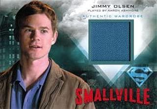Smallville Seasons 7 thru 10 M11 Wardrobe Costume Card Jimmys Blue Shirt