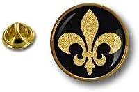 Spilla Pin pin's Spille spilletta Giacca Bandiera Badge Biker Giglio Fleur Lys