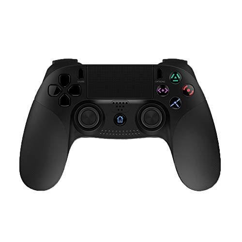 Controller wireless PS4 per PlayStation 4, controller per controller wireless a impatto a vibrazione doppia, Nero, 2019 Nuovo,Black