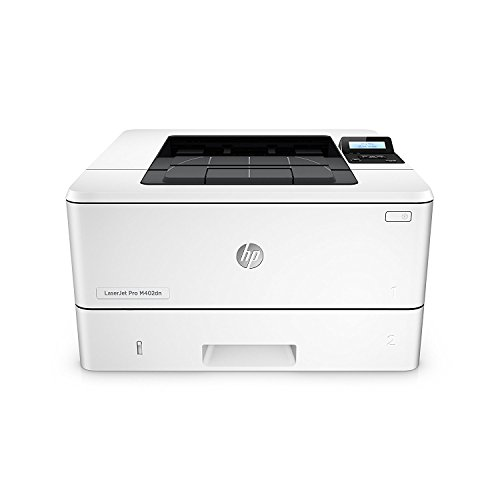 HP LaserJet Pro M402dn Laser Printer with Built-in Ethernet & Double-Sided Printing, Amazon Dash...