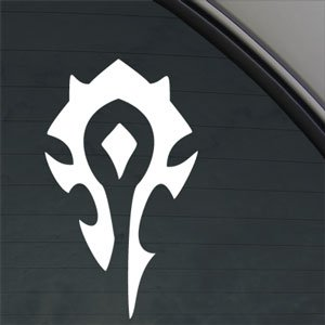 Warcraft Horde PVP-WOW-Decal Car Truck Bumper Window Sticker