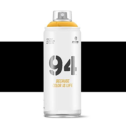 Pintura en spray MTN 94 R-9011 Negro 400ml