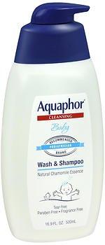 Aquaphor depot Baby Wash Brand Cheap Sale Venue Shampoo Fragrance Free oz 5 of - Pack 16.9