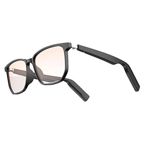 Sonnenbrille Wireless Bluetooth Audio Männer Frau, Music Bone Conduction Brille, IP67 Wasserdicht, Open Ear Smart Brille, Für Männer Frauen Outdoor Sport - 197X81.5X67.5mm