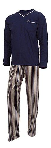e.VIP Olaf 199 pyjama voor heren, 100% katoen