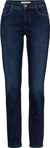 BRAX Damen Style Mary Simply Brilliant Denim Slim Fit Jeans, Used Regular Blue, 36W / 30L (Herstellergröße: 46K)