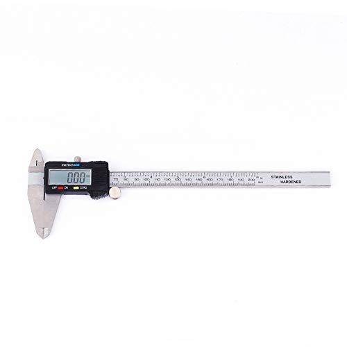 Calibro a corsoio inossidabile di Digital, calibro robusto 0-200mm/0-8in 5 ℃-40 ℃/4 da 1 a 104 gradi F. metallo