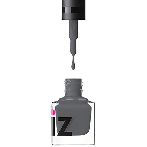 iZ Gel Effect Nail Polish | 6ml | Chip Resistant | Patented Formula | No UV Lamp Required (Slate Grey)