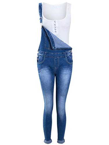 SS7 Mädchen Latzhose Jeans