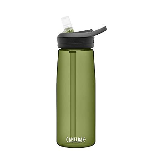 CAMELBAK Eddy+ Straw Tritan Bottle - Dark Green, 750ml / 0.75L 25oz Eddy...
