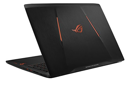 "Asus ROG GL502VS-DB71 15.6"" Full­Hd Gaming Laptop, Intel Core I7­6700Hq, NVIDIA GTX 1070, 256GB PCIe SSD+1TB HDD, Windows 10, Black"
