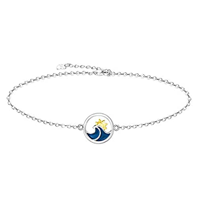 Amazon - 75% Off on Wave Ocean Beach Sea Anklet for Women