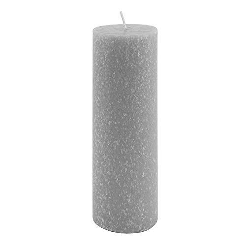 Root Timberline Pillar Candle, Platinum, 3 x 9
